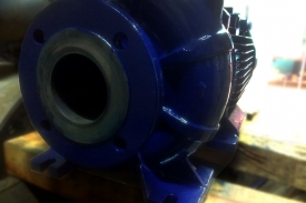 Entrega de bomba centrifuga en Brightstar