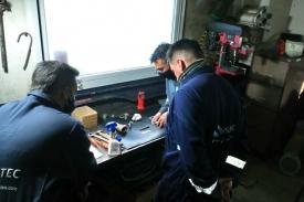 Capacitación para calibración de válvulas PSV