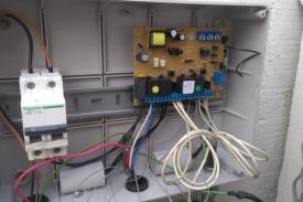Sistema de apertura automática de portón domiciliario