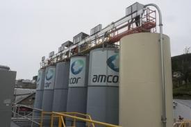 Conexión del  nuevo sistema de control en Vinisa Fueguina