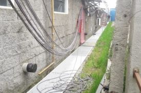 Desmontaje de cable en Vinisa Fueguina S.R.L