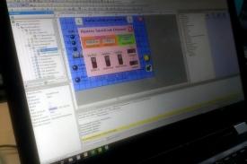 Programación de tablero de iluminación para Sanatorium