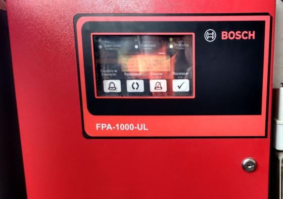 Mantenimiento de sistema de detección de incendio en Vinisa