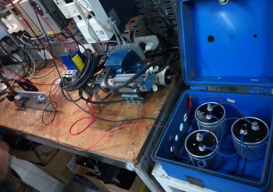 Prueba de capacitores