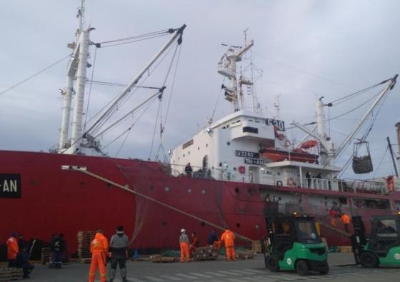 Recorrido de motor principal en Buque de pesca Tai an