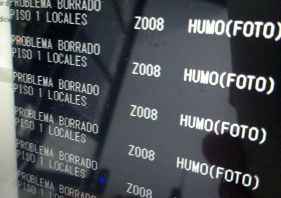 Mantenimiento de sistema de detección de incendio en Paseo del Fuego