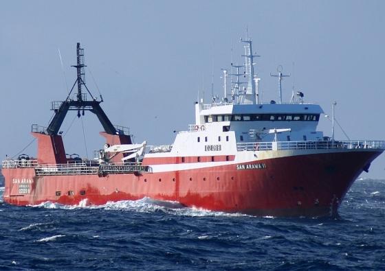 Buque de pesca San Arawa