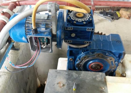 Reparación de caja reductora en Planta 4 DPOSS