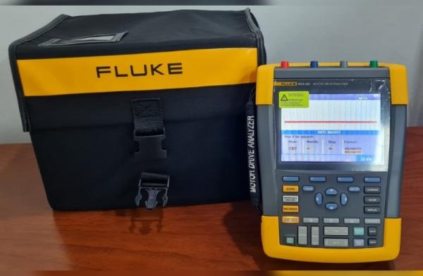 Analizador de Drivers y Motores de la serie MDA-550 FLUKE