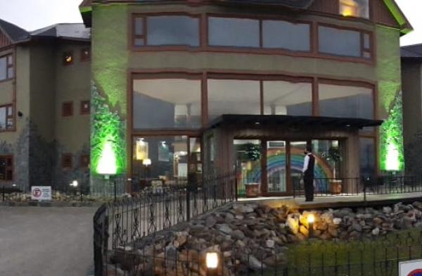 Iluminación del Hotel Los Yamanas