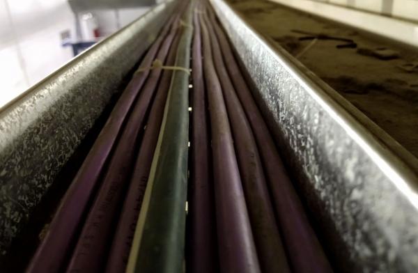 Canalización para sector de Sea Bulk en Vinisa Fueguina S.R.L.